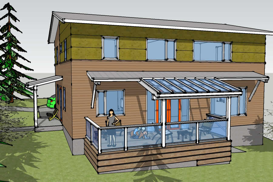 Saanich Passive House - single family residential